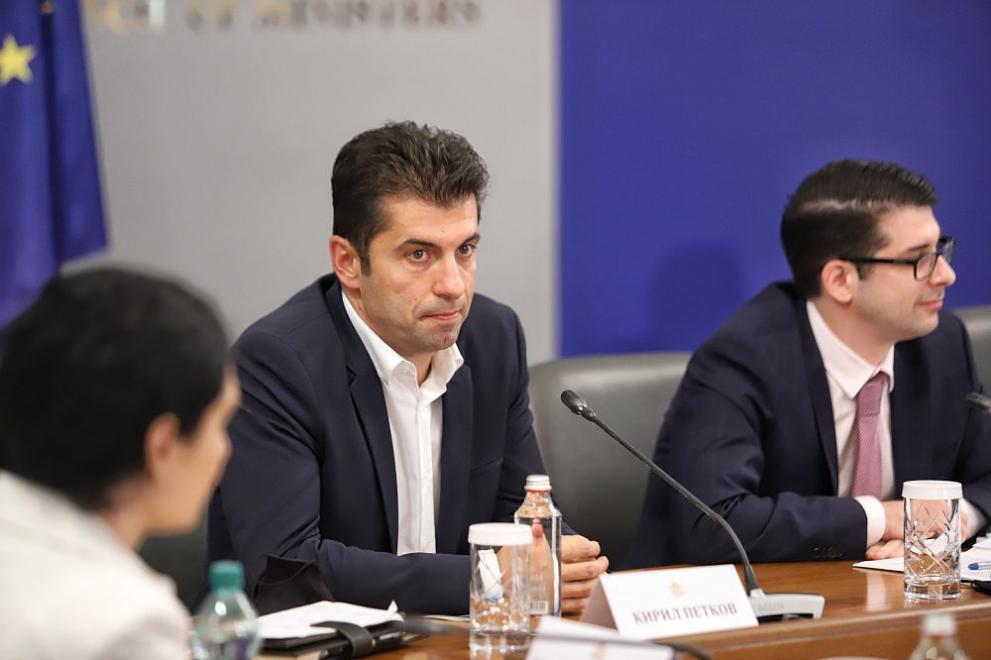 Кирил Петков отчет служебно правителство