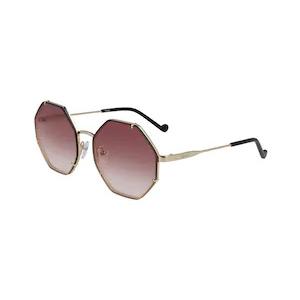 Liu Jo, Слънчеви очила, Светлозлатист/Черен