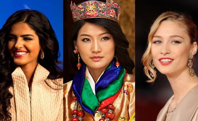 Кои са най-красивите принцеси в света