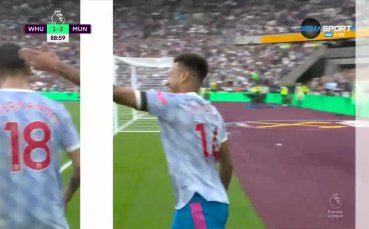 Уест Хем Юнайтед - Манчестър Юнайтед 1:2 /репортаж/