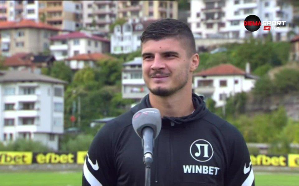 Георги Минчев призна задоволството си след успеха с 4:0 над
