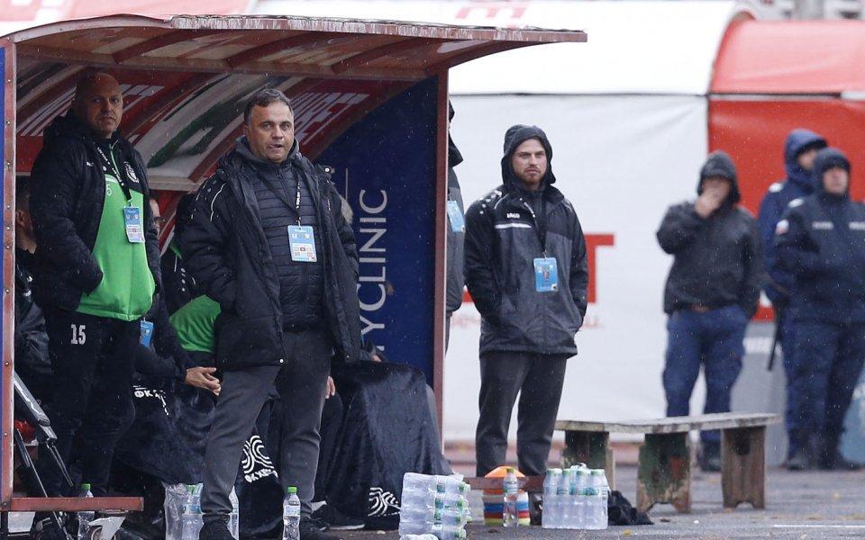 Наставникът на Хебър Николай Митов призна, че отборът му е