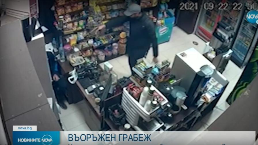 Въоръжен мъж ограби магазин в Елин Пелин