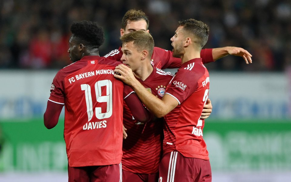 Байерн Мюнхен победи с 3:1 Гройтер Фюрт като гост в