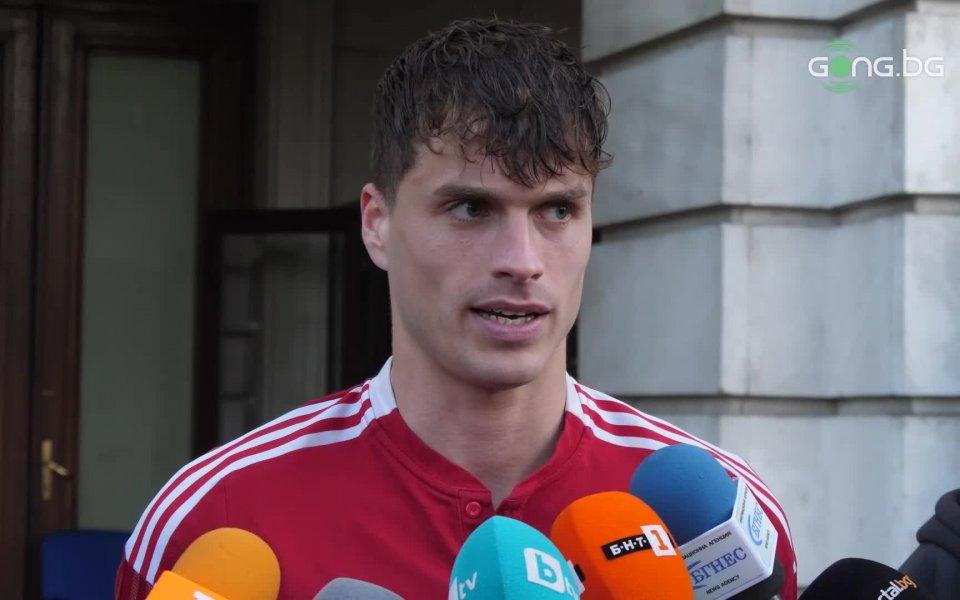 Бранителят на ЦСКА Юрген Матей отчете, че отборът не е