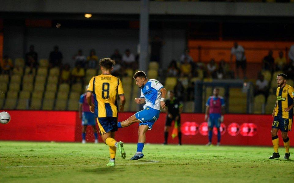 Аполон победи АЕЛ Лимасол с 1:0 в мач от четвъртия
