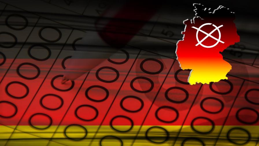 <p>Германия гласува. Какво показват екзитполовете</p>