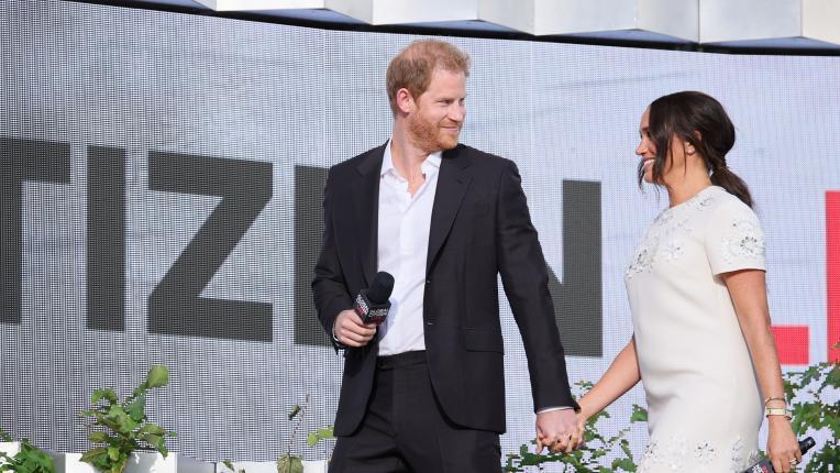 Меган и Хари с призив на концерта Global Citizen