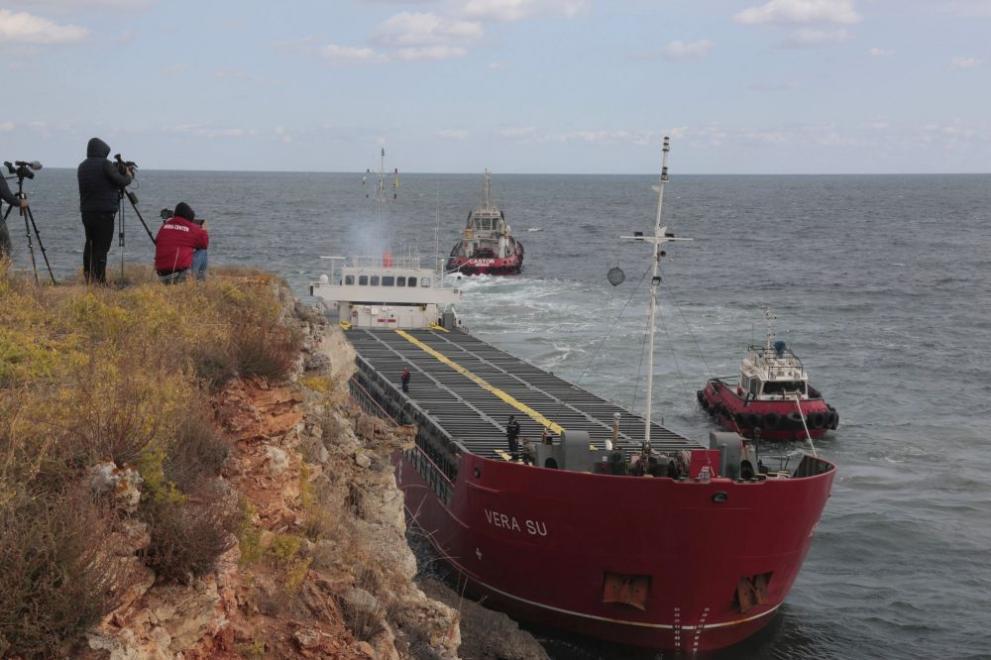 Камен бряг кораб нови