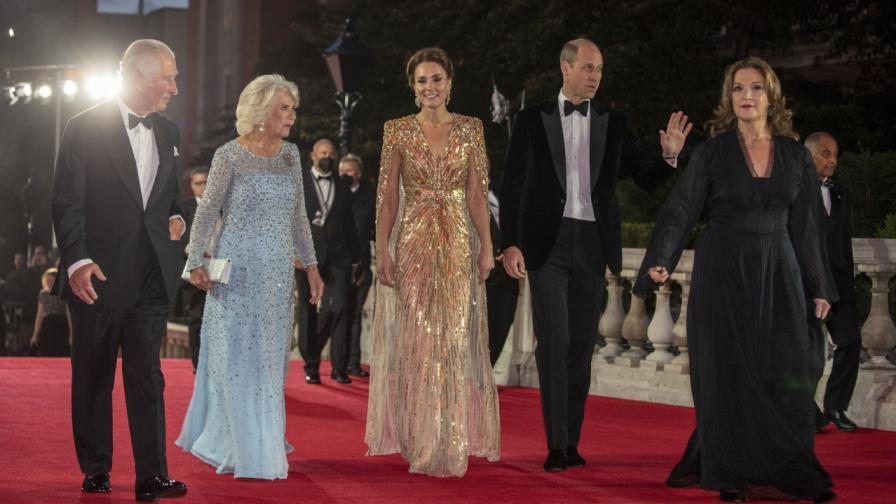 Принц Чалз, Камила, Кейт Мидълтън и принц Уилям