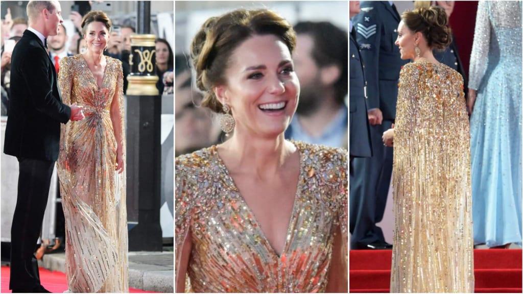 Кейт порази света с божествената си рокля