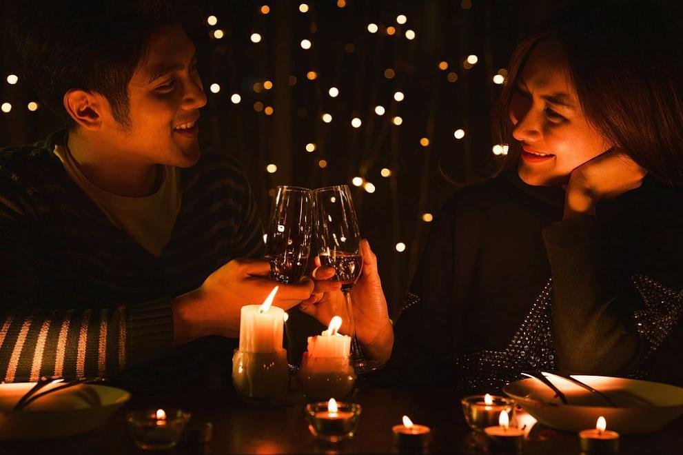 вечеря на свещи