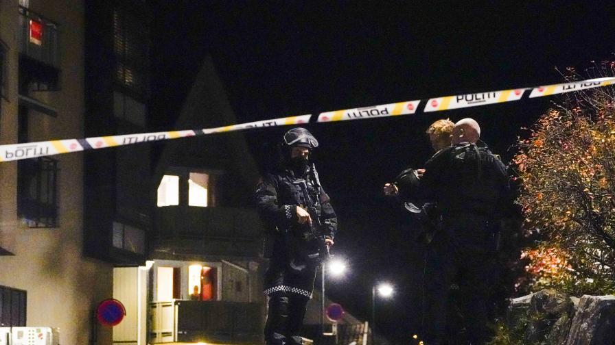 Нападение с лък в Норвегия, има убити и ранени
