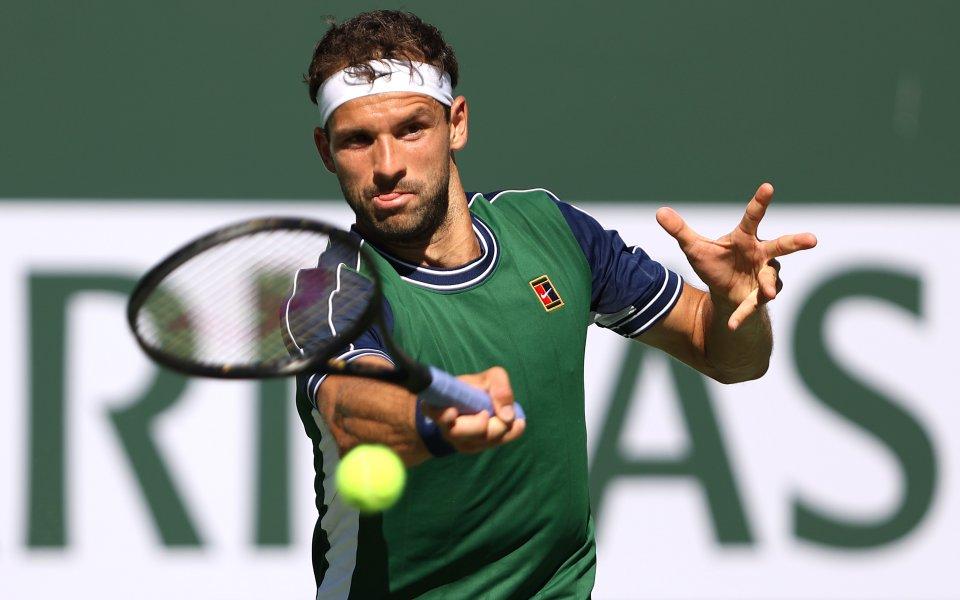 Най-добрият български тенисист Григор Димитров излиза в полуфинална битка срещу