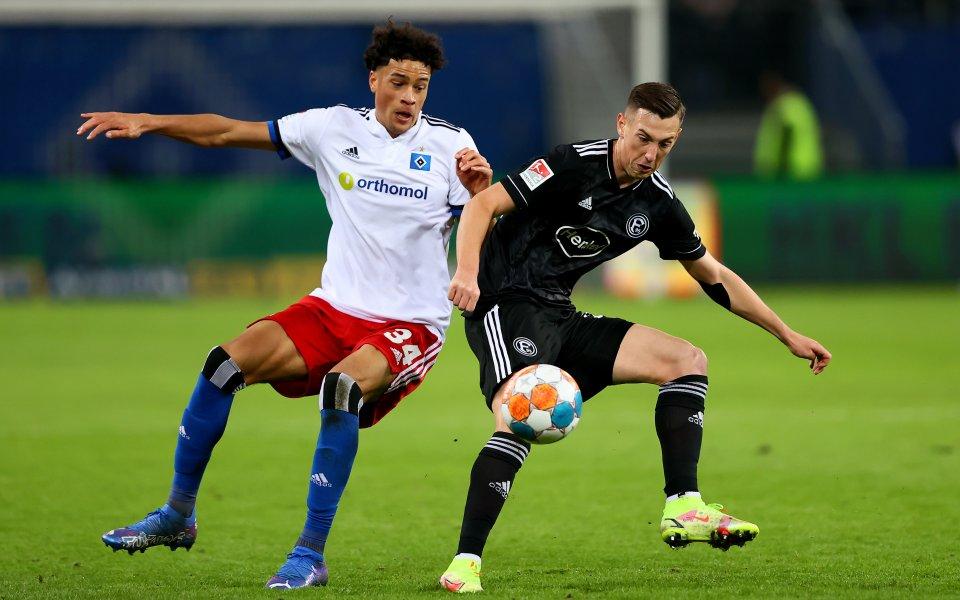 Отборите на Хамбургер и Фортуна Дюселдорф завършиха при резултат 1:1