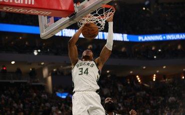 Янис поведе Милуоки за първа победа в НБА, Голдън Стейт удари Лейкърс