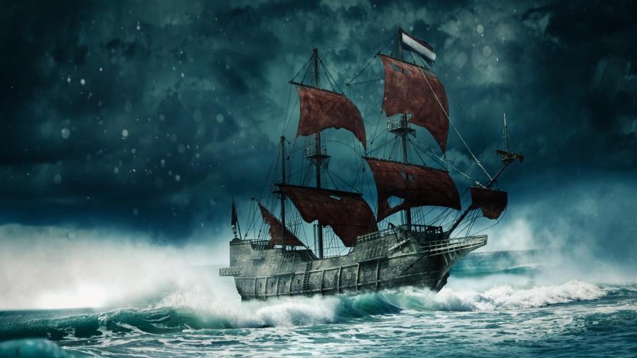 <p>Призрачни кораби изплуваха от водите край Япония</p>
