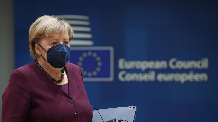 Лидерите от ЕС се сбогуваха с Меркел