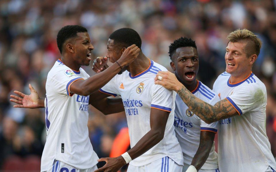 Реал Мадрид победи с 2:1 Барселона впървоЕл Класико след ерата