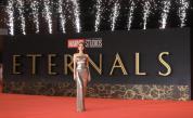 Кралицата на червения килим: Анджелина Джоли на фестивала в Рим