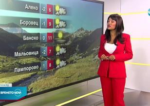 Прогноза за времето (27.10.2021 - сутрешна)