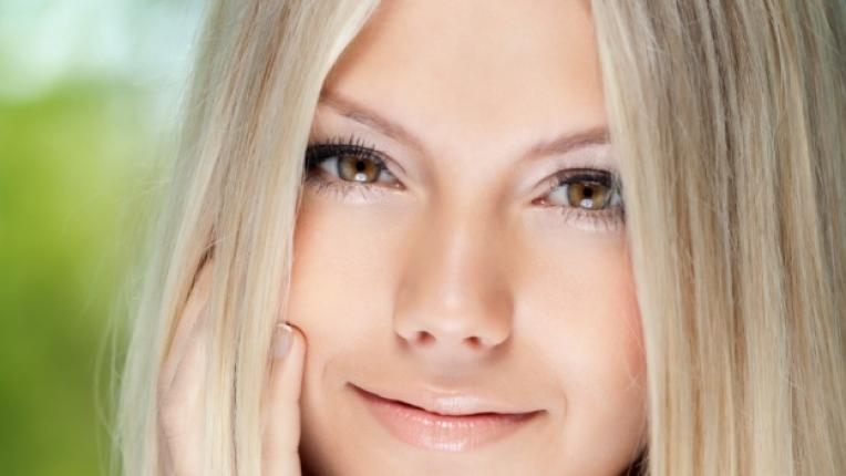 лице жена красота усмивка