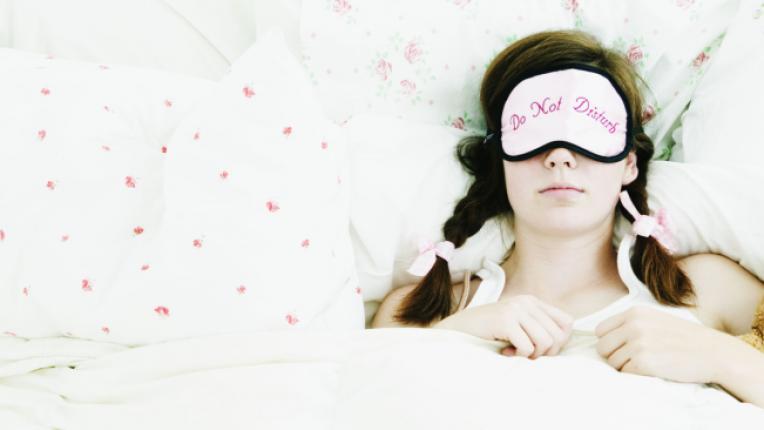 сън спане легло маска за очи