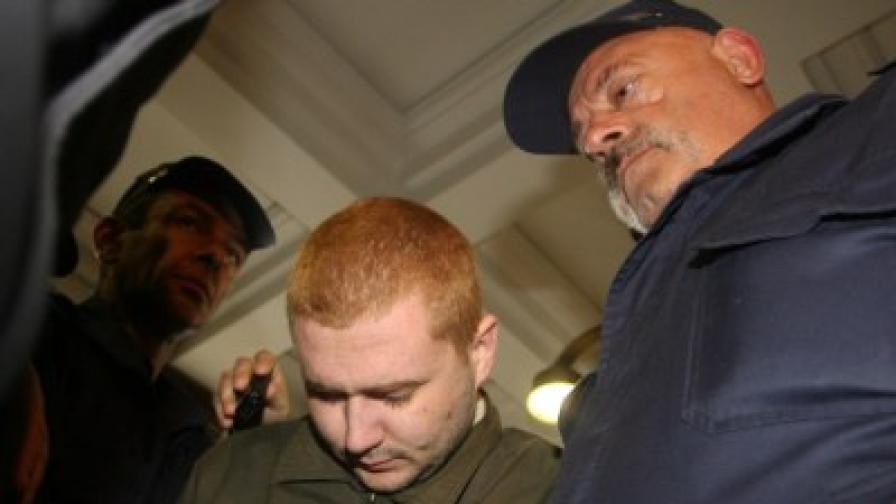 Илиян Тодоров бе доведен в съда за определяне на постоянната му мярка за неотклонение
