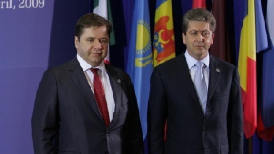 """Първанов: """"Газпром"""" да зачита суверенитета ни"""