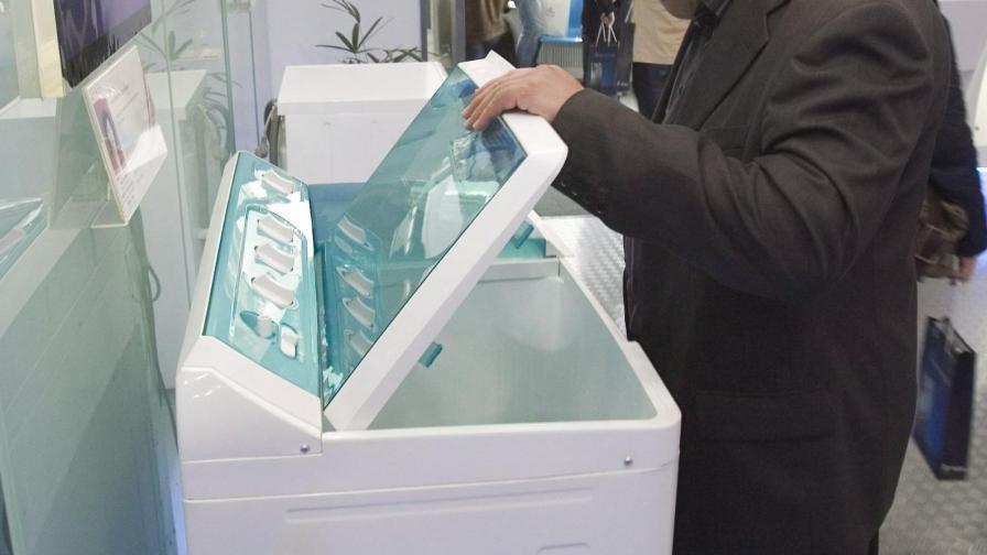 На нормалните перални са им нужни литри вода.
