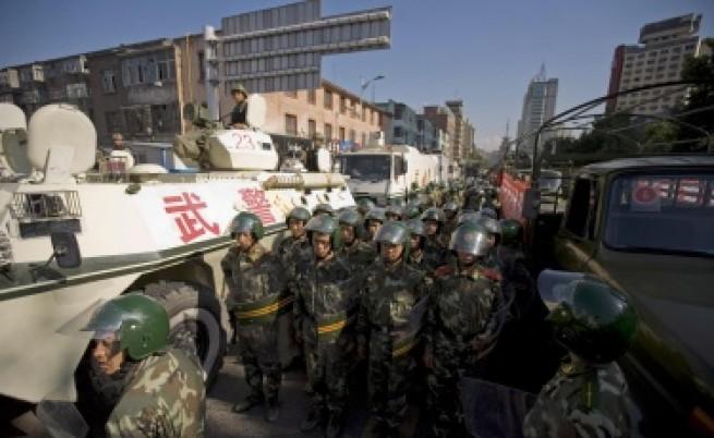 Дребен инцидент предизвикал бунта в Китай