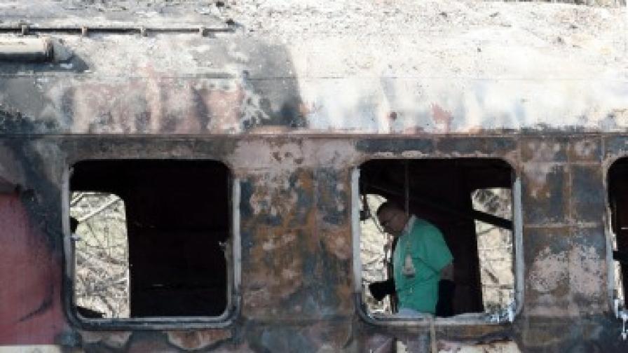 Задържаха шафнера на влака София-Кардам