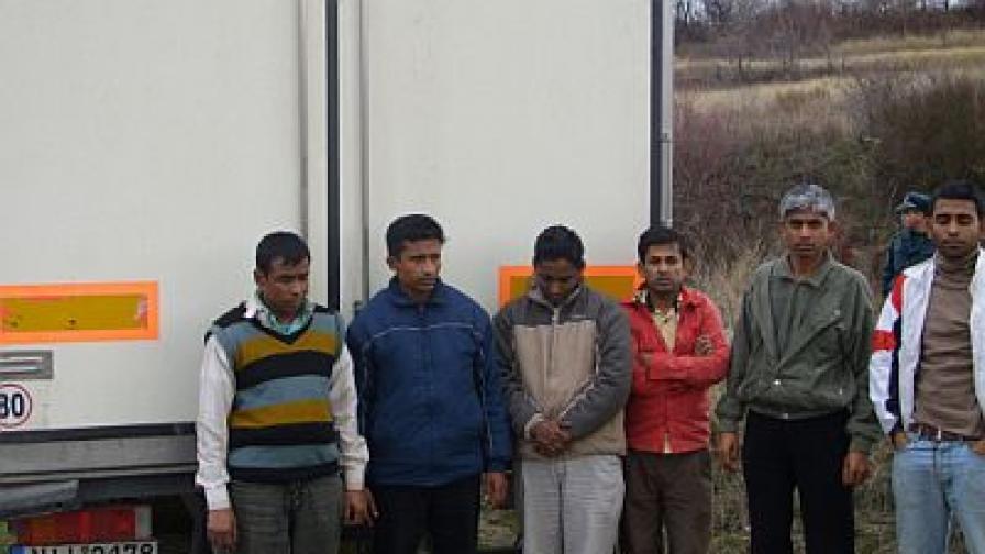 Емигранти от Бангладеш, заловени на ГКПП-Кулата