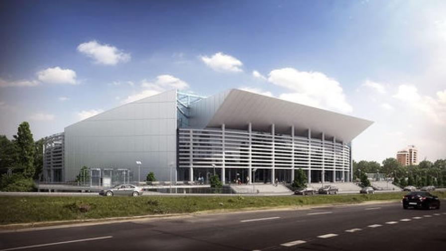 Националната спортна зала - със 17,6 млн. по-евтина