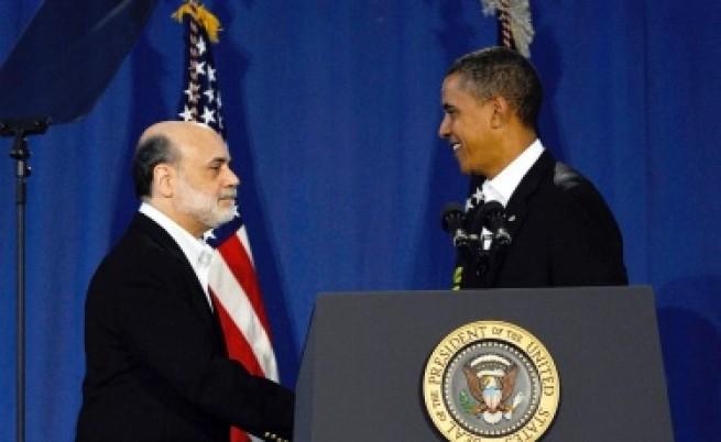 Обама официално преназначи Бернанке начело на Федералния резерв