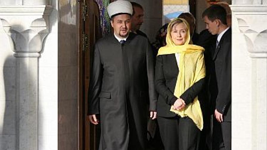 Клинтън на сватба в Татарстан