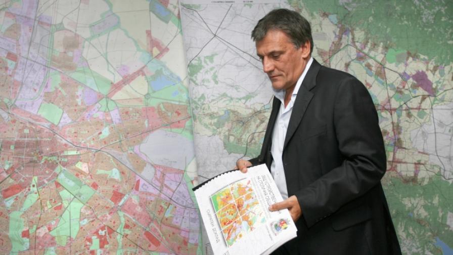Главният архитект на София Петър Диков