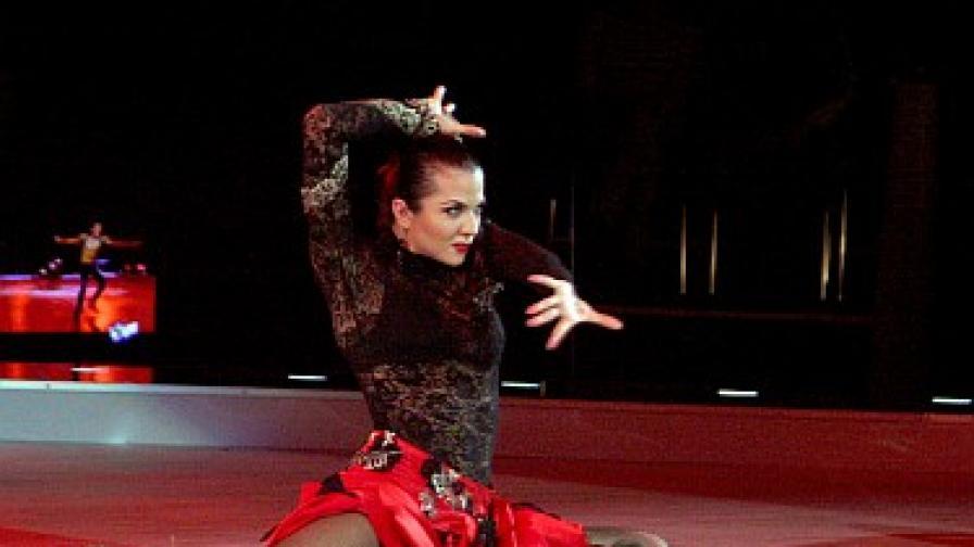 30 точки: Райна танцува пасо добле като истинска испанка