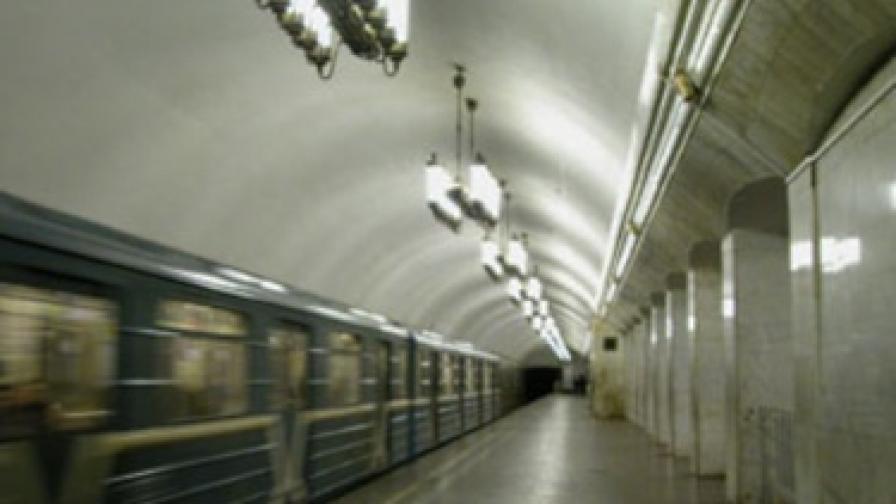 Метростанция Курская