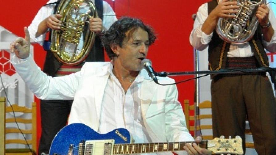 Горан Брегович е свирил в България неведнъж
