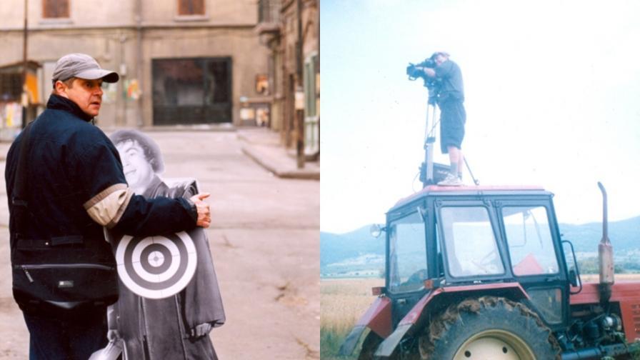 """Работни моменти от снимките на поредицата """"Умно село"""""""