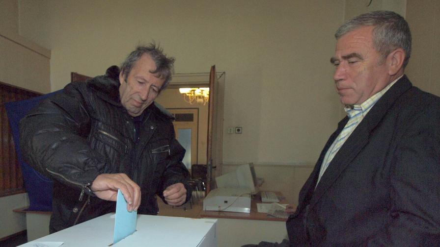 Гласуване във Варна