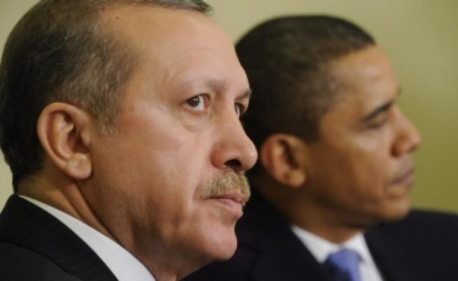 Обама подаде ръка на Ердоган