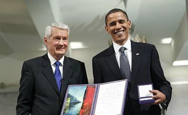 Обама скромно призна, че има по-заслужили от него