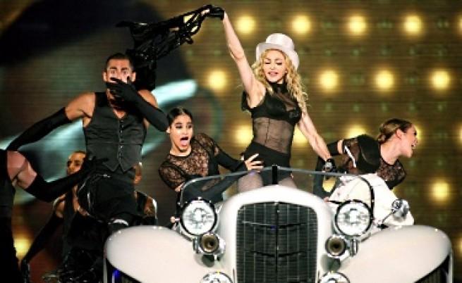 НАП иска 10% от хонорара на Мадона у нас