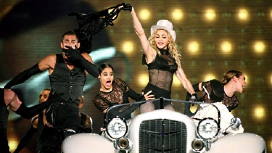 Шоуто на Мадона у нас беше на 29 август