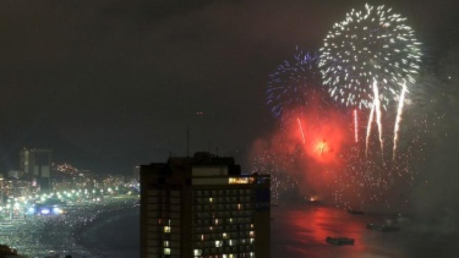 В Рио 2 млн. души се събраха на плажа Копакабана