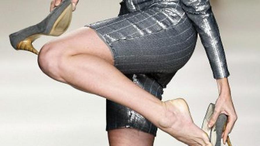 Еволюцията при жените означавала и големи крака