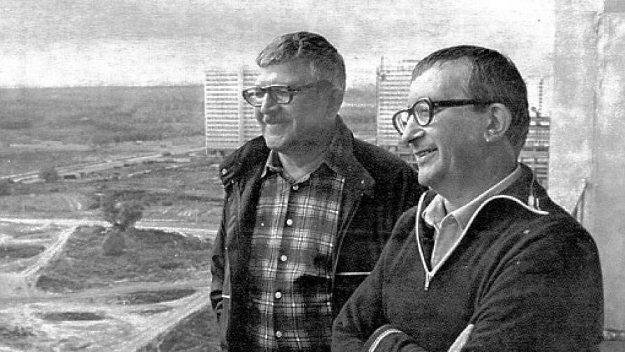 Аркадий и Борис Стругацки през 80-те