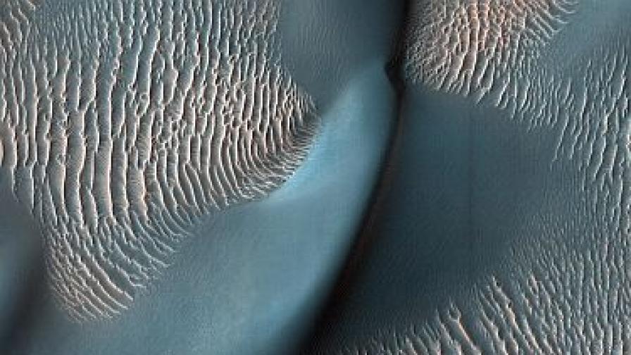 Езера на Марс само преди 3 млрд. г.